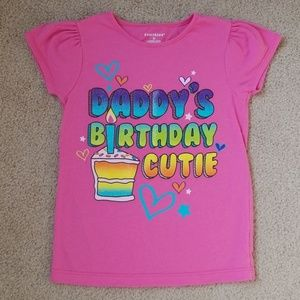 Healthtex Pink Birthday Cutie T-shirt